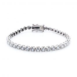 Solo Diamond Tennis Bracelet in 18k White Gold (2 1/5 ct. tw.)
